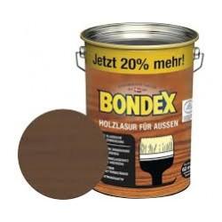 BONDEX Holzlasur für außen 4,8L nussbaum