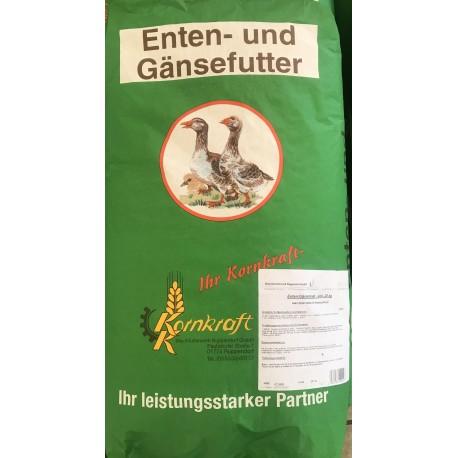 Enten/Gänsemast - pelletiert 25,0Kg
