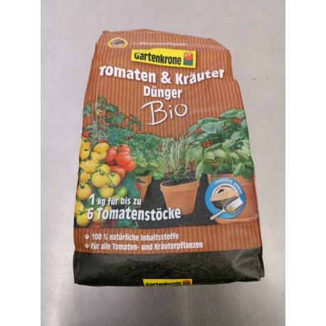 Gartenkrone BIO Tomaten + Kräuterdünger 1,0Kg