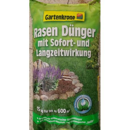 Gartenkrone Rasendünger mit Langzeitwirkung 15,0kg