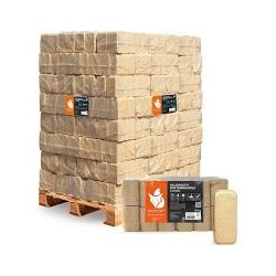 Palette Holzbrikett 10kg (Bild kann abweichen)