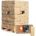 Holzbrikett 10kg, Paletteninhalt: 96 Stück