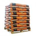 Holzpellets 15kg, Paletteninhalt: 66 Sack, A1  DIN+