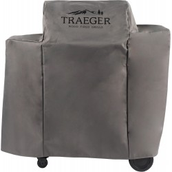 Traeger Abdeckhaube für Ironwood 650, lang, grau mit Logo
