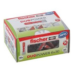 Dübel DUOPOWER 6x30 100 St