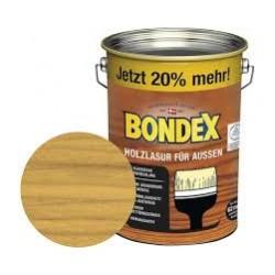 BONDEX Holzlasur für außen 4,8L eiche hell